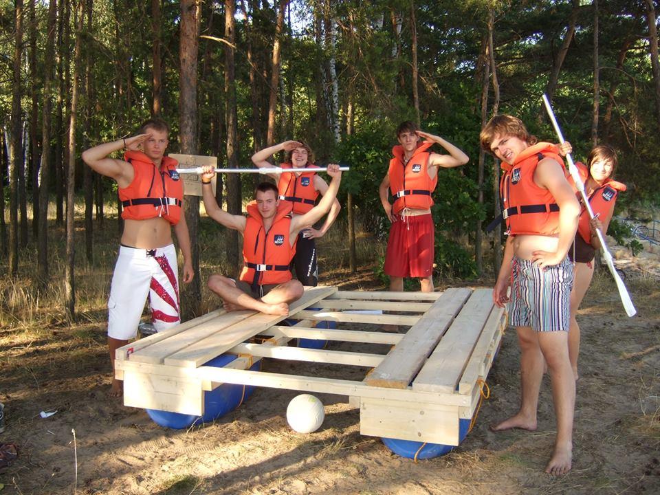 Die 1. Freiwilligengeneration 2008/09