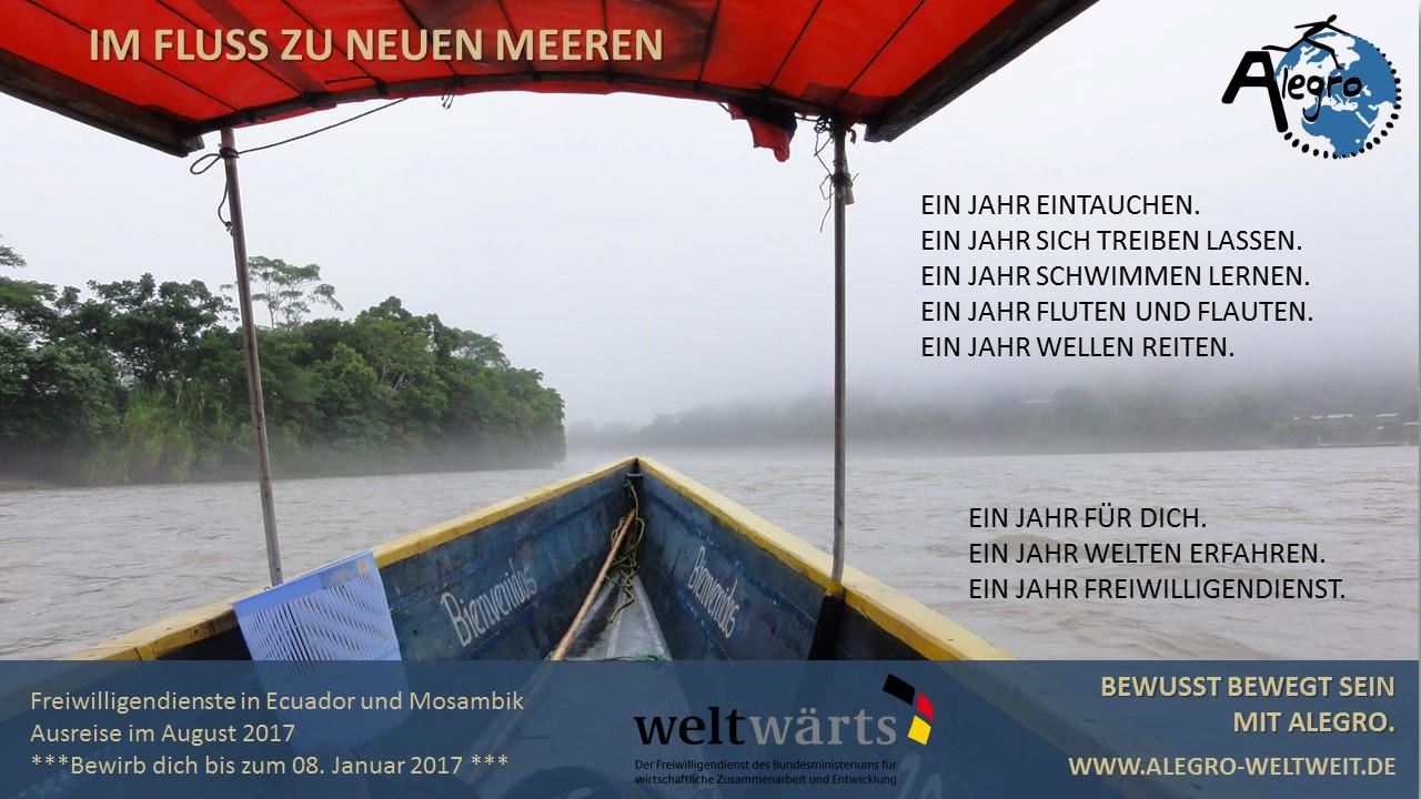 Im Fluss Werbung